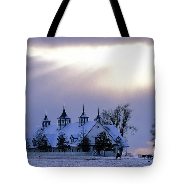 Winter In The Bluegrass - Fs000286 Tote Bag