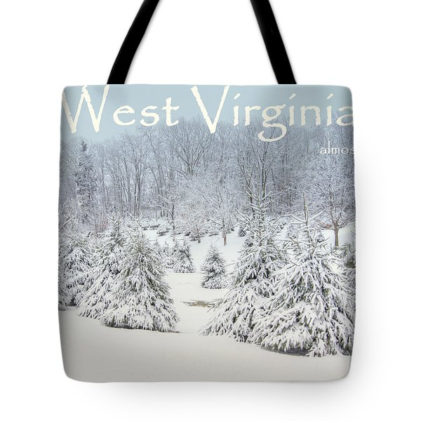 Winter In West Virginia Tote Bag by Benanne Stiens