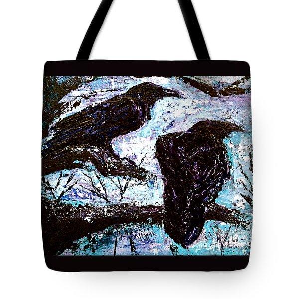 Winter Is Coming Tote Bag by D Renee Wilson