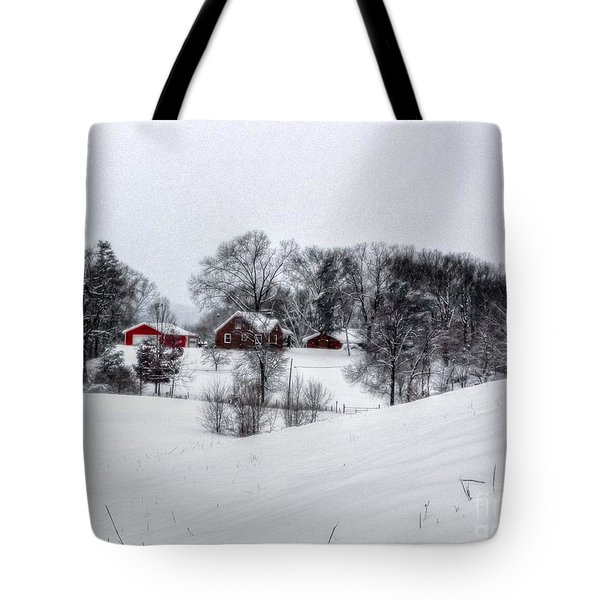 Winter Landscape 5 Tote Bag
