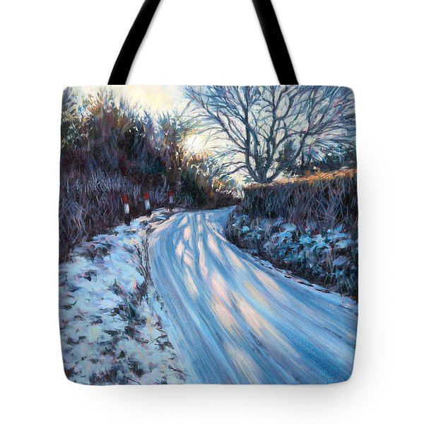 Winter Light Tote Bag by Tilly Willis