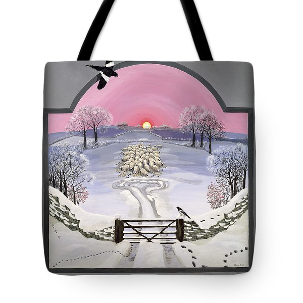 Winter Tote Bag by Maggie Rowe