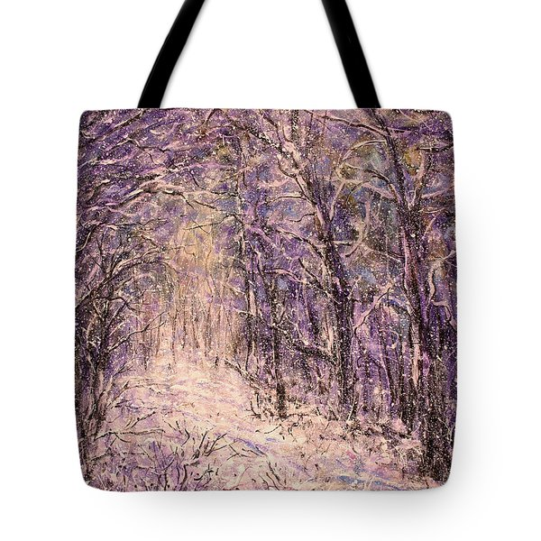 Winter Magic Tote Bag by Natalie Holland