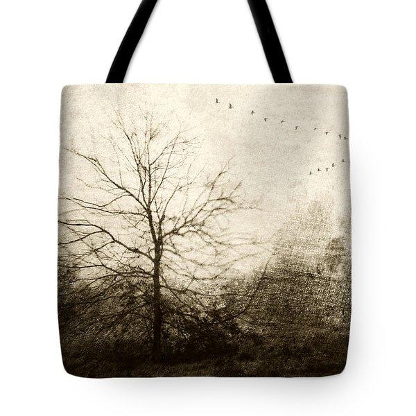 Winter Migration Tote Bag