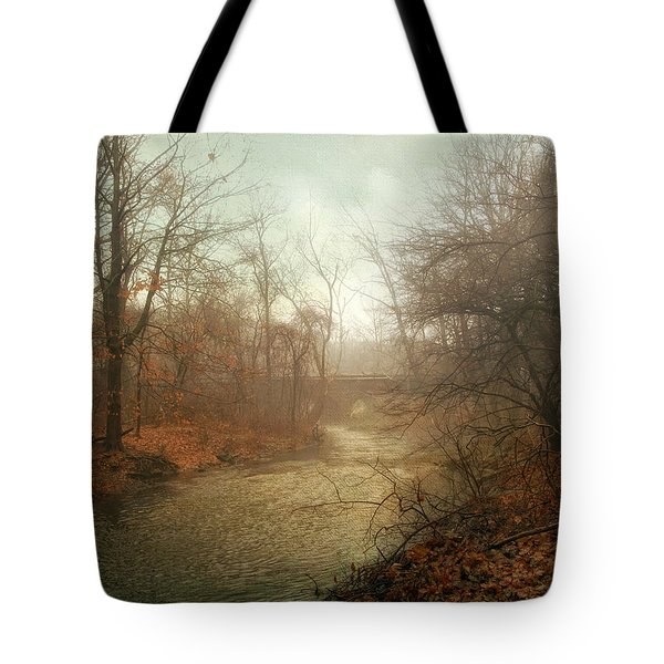 Winter Mist Tote Bag by Jessica Jenney