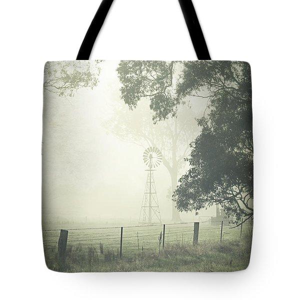 Winter Morning Londrigan 9 Tote Bag by Linda Lees