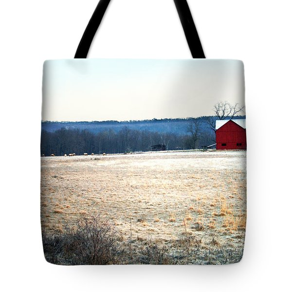Winter Morning  Tote Bag by Meaghan Troup