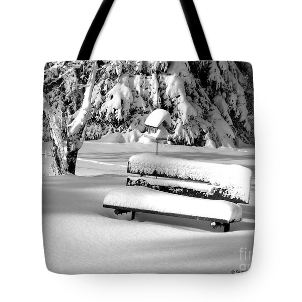 Winter Morning Tote Bag by Susan  Dimitrakopoulos