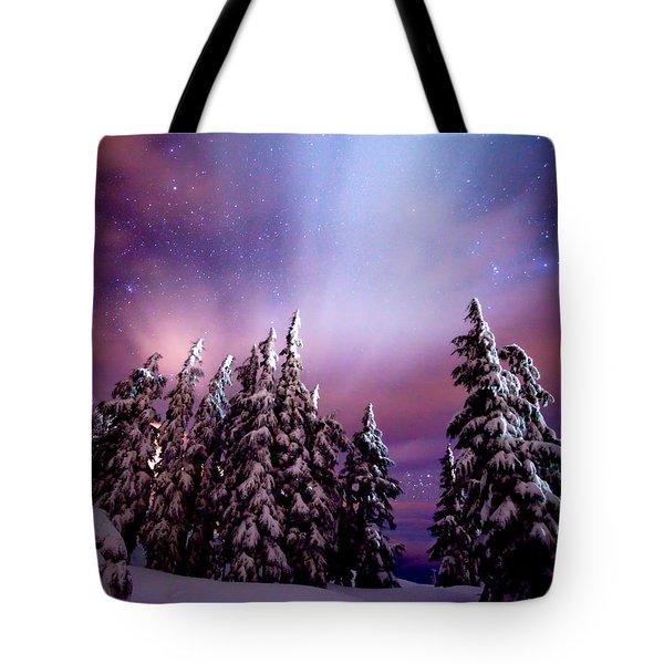 Winter Nights Tote Bag by Darren  White