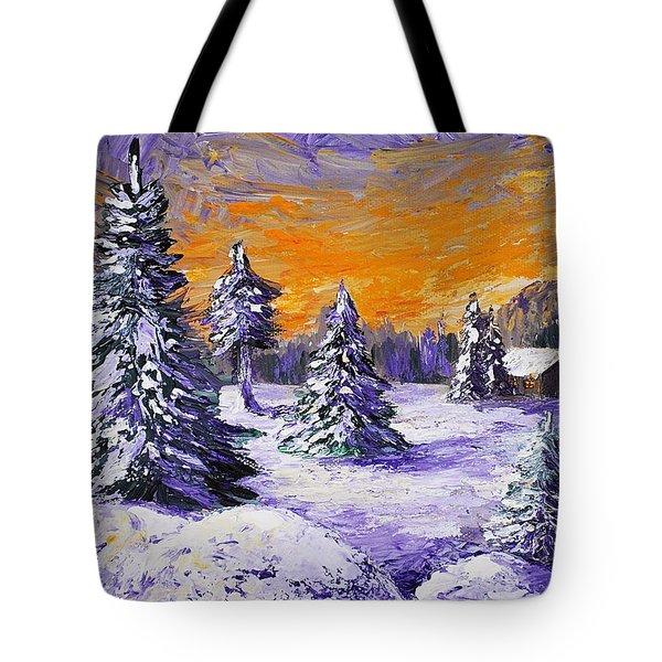 Winter Outlook Tote Bag by Anastasiya Malakhova