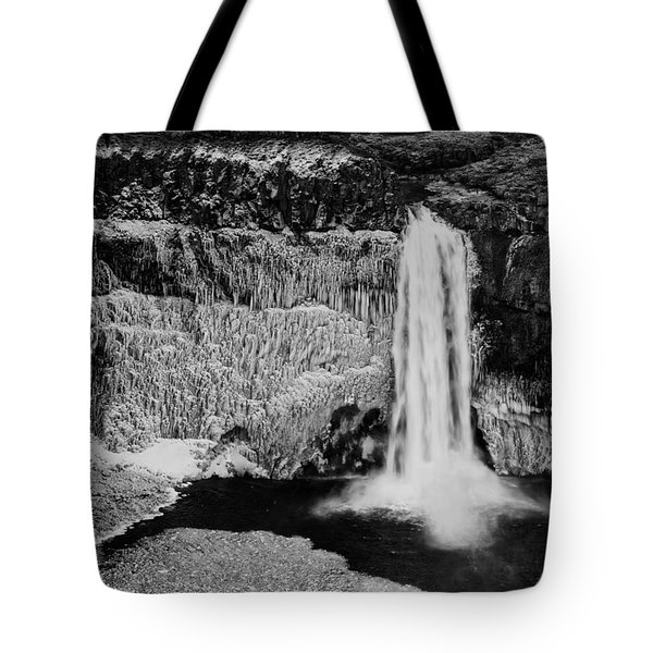 Winter Palouse Falls 3 Tote Bag
