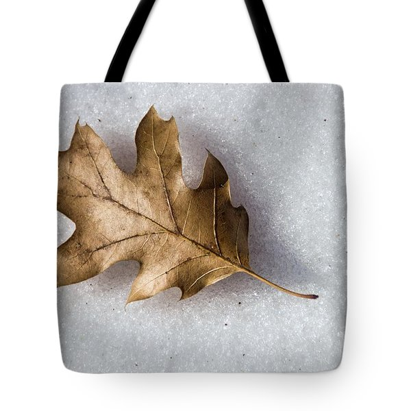 Winter Tote Bag by Peggy Hughes