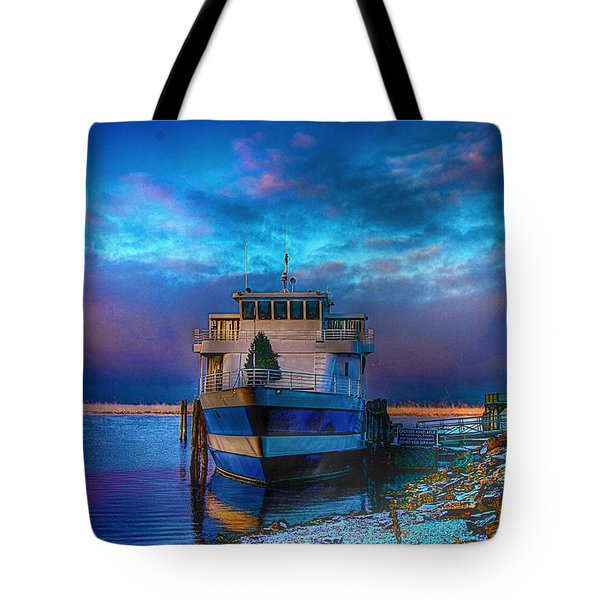 Welcome Sun Breaking The Cold Tote Bag by Dennis Baswell