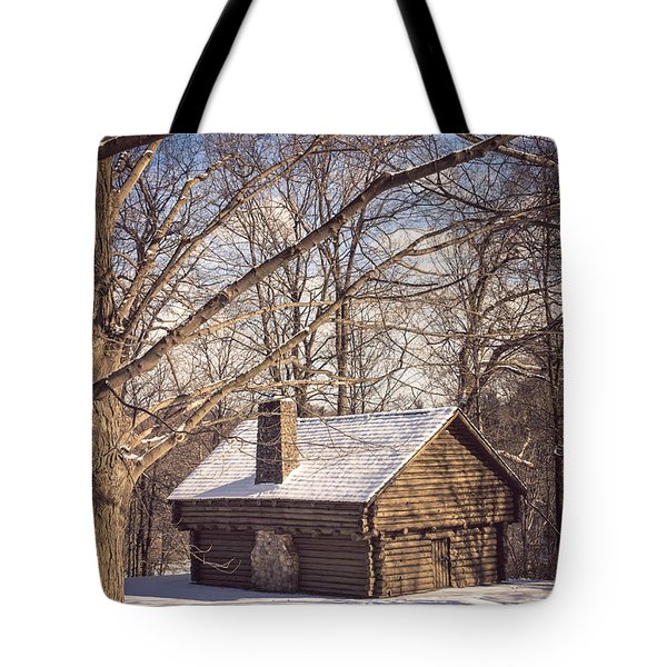 Winter Retreat Tote Bag