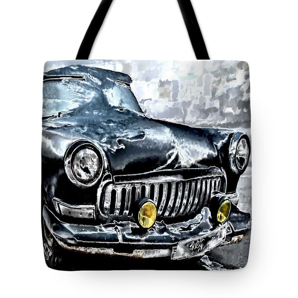 Winter Road Warrior Tote Bag