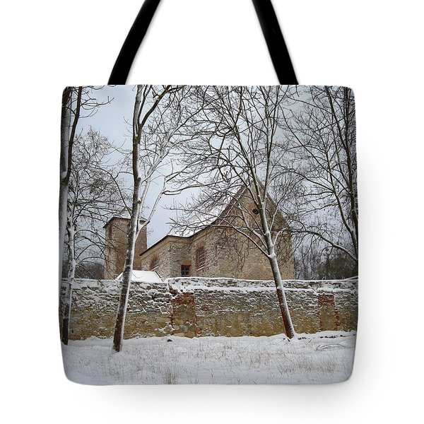 Tote Bag featuring the photograph Old Monastery by Gabriella Weninger - David