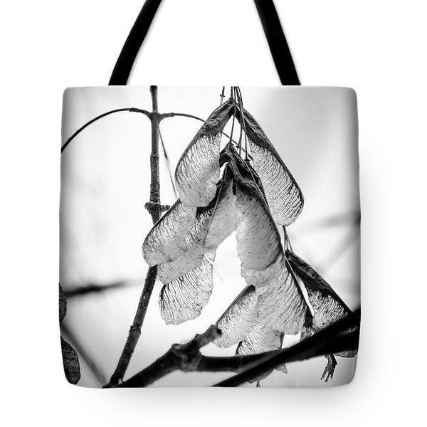 Winter Seeds Tote Bag