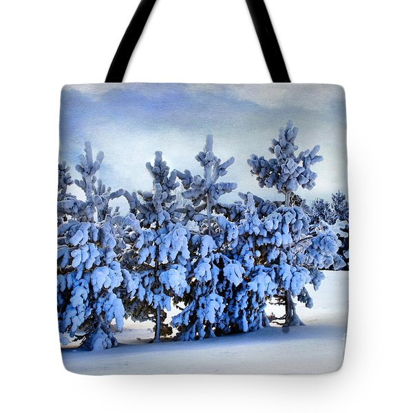 Winter Serenity  Tote Bag by Andrea Kollo