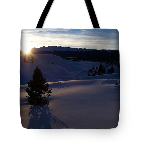 Winter Solstice Tote Bag by Jeremy Rhoades