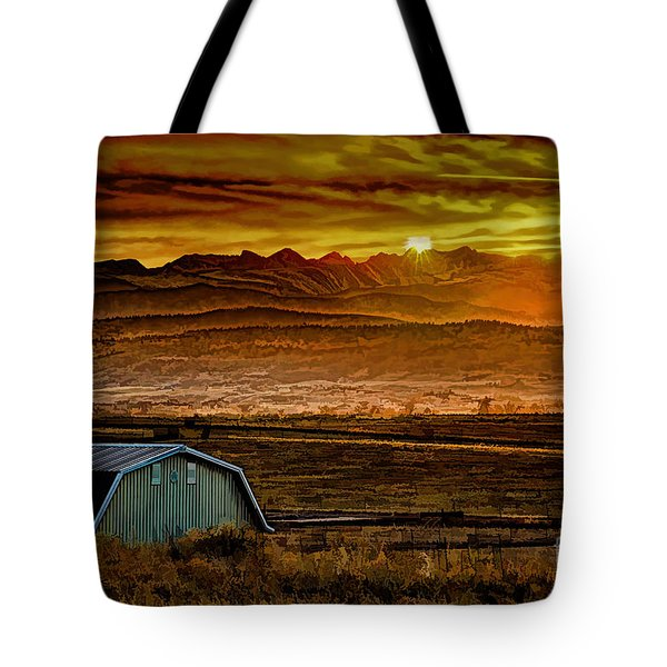 Winter Solstice Tote Bag by Jon Burch Photography