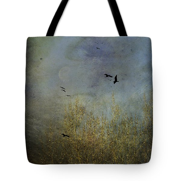 Winter Song Tote Bag by Diane Schuster
