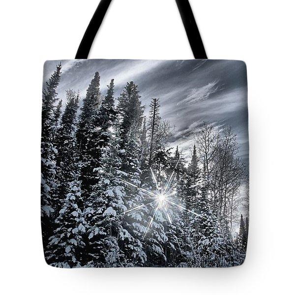 Winter Star Tote Bag
