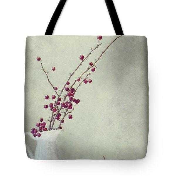 Winter Still Life Tote Bag by Priska Wettstein
