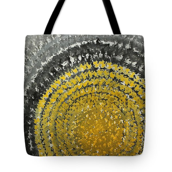 Winter Sun Original Painting Tote Bag