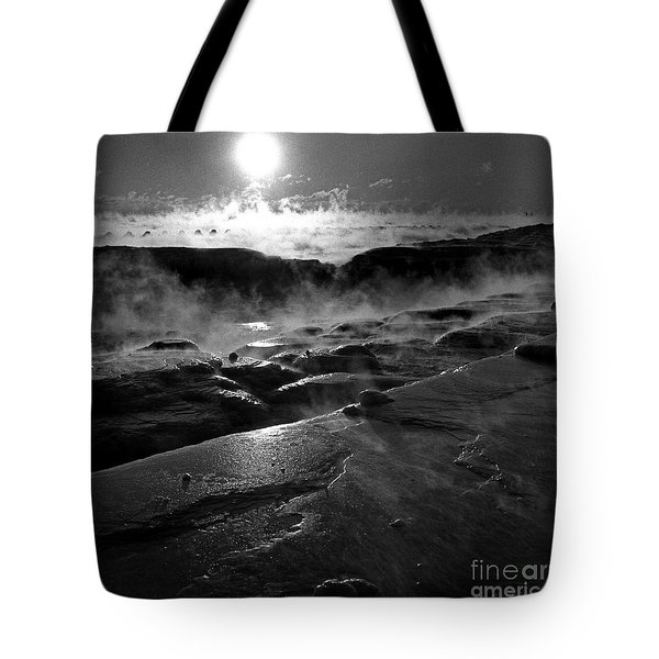 Winter Sunrise Deep Freeze Tote Bag