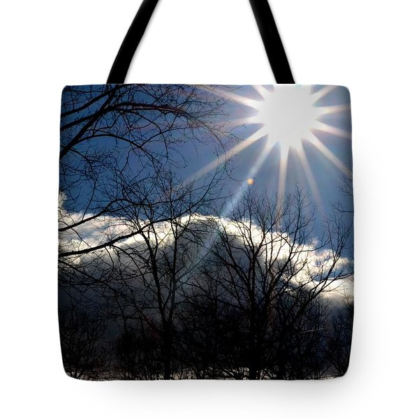 Winter Sunshine Tote Bag by Carlee Ojeda