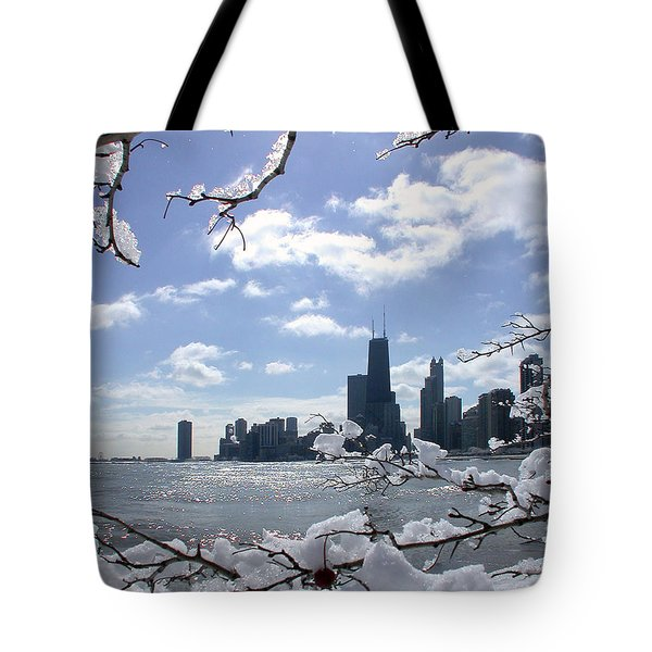 Winter Sunshine Tote Bag