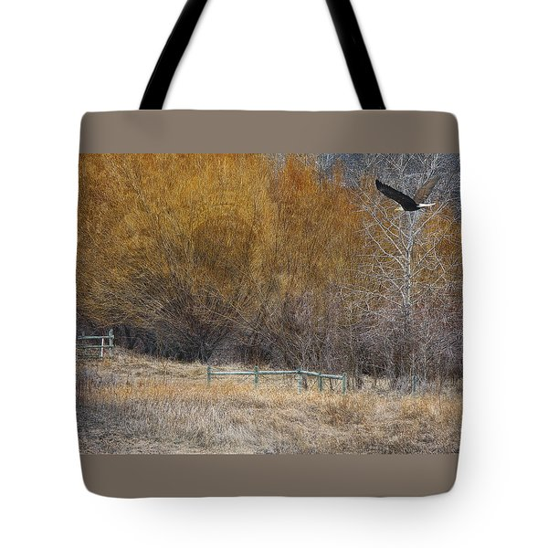 Winter Thaw Tote Bag by Ed Hall