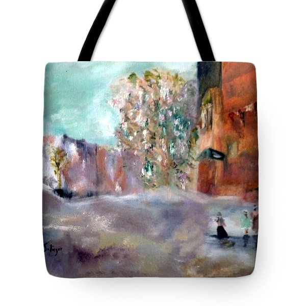 Winter Tree Tote Bag by Aleezah Selinger