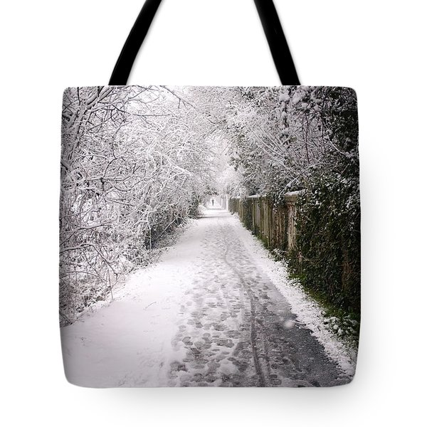 Winter Walk Tote Bag