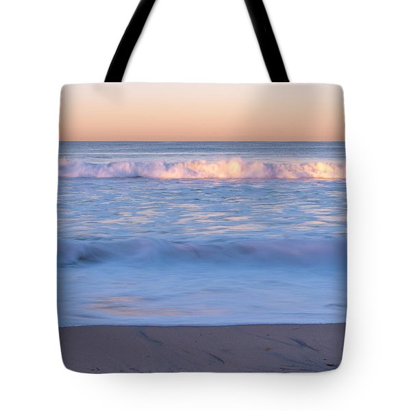 Winter Waves 7 Tote Bag by Priya Ghose