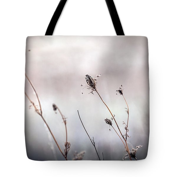 Tote Bag featuring the photograph Winter Wild Flowers by Sennie Pierson