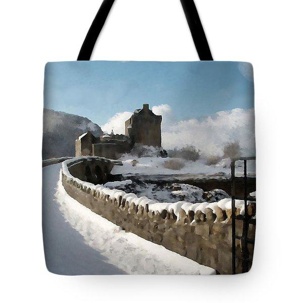 Winter Wonder Walkway Tote Bag