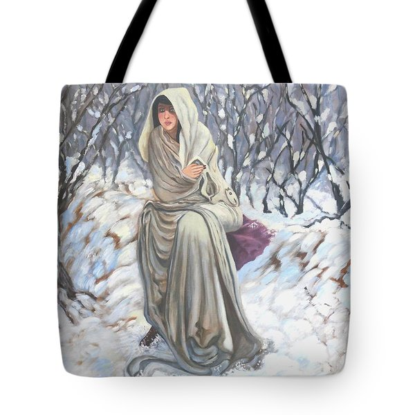 Winter Wonderland Tote Bag by Caroline Street