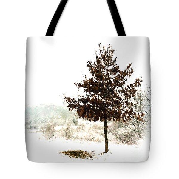 Winter Wonderland  Tote Bag by Kerri Farley