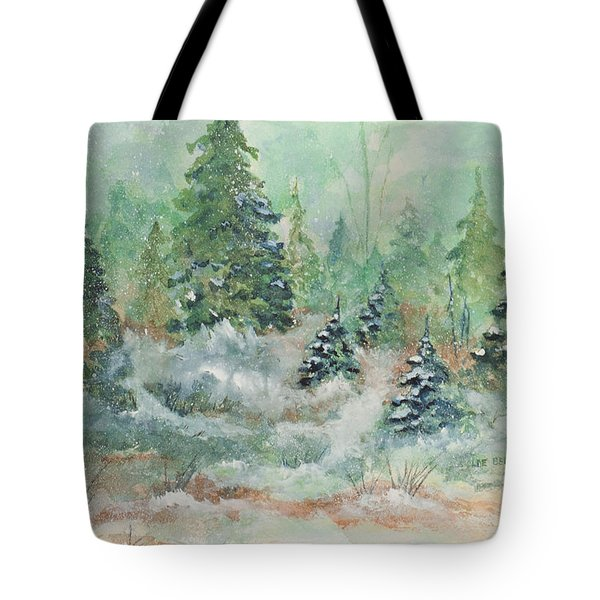 Winter Wonderland Tote Bag by Lee Beuther