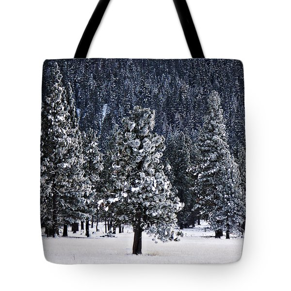 Winter Wonderland Tote Bag by Melanie Lankford Photography