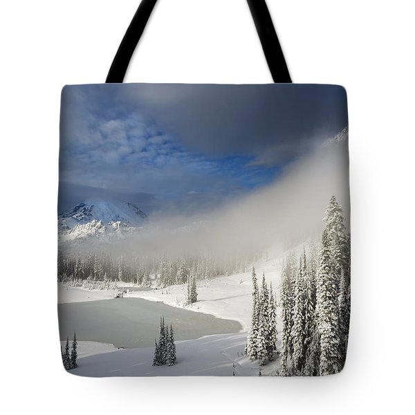 Winter Wonderland Tote Bag by Mike  Dawson