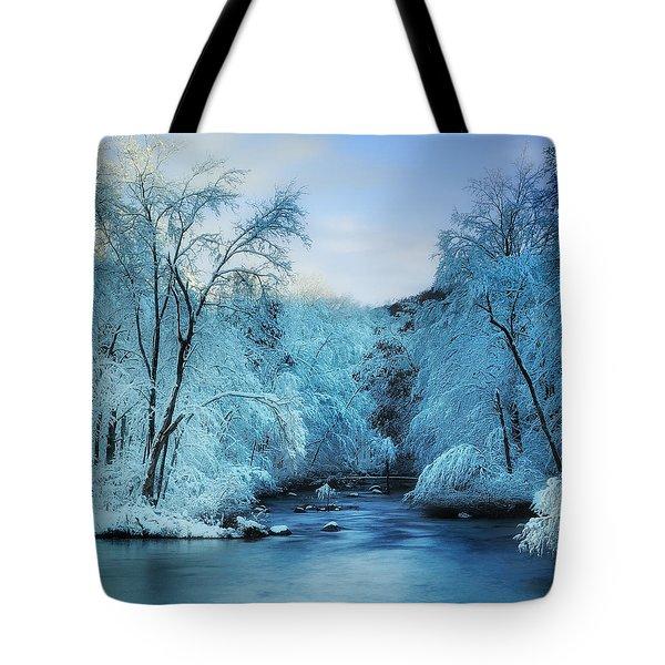 A Winter Wonderland Tote Bag