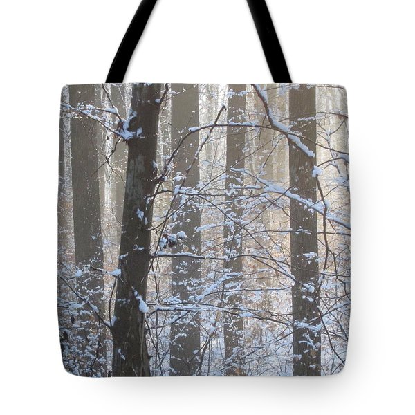 Winter Woodland Tote Bag