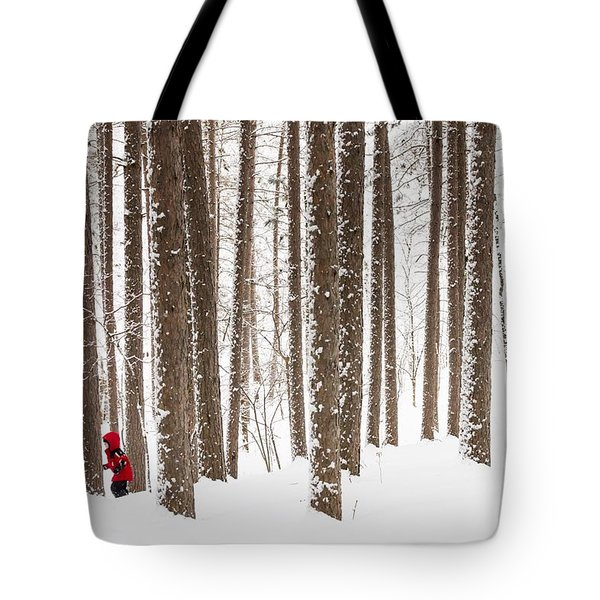 Winter Frolic Tote Bag
