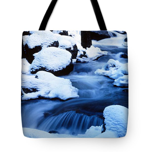 Winter Yosemite National Park Ca Tote Bag by Panoramic Images