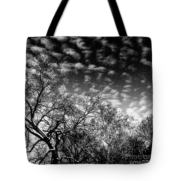 Winterfold - Monochrome Tote Bag