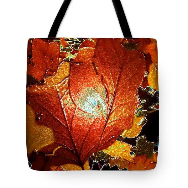 winters autumn in Pasadena Tote Bag