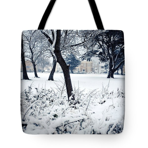 Winter's Blanket Tote Bag