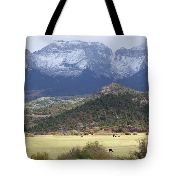 Winter's Coming Tote Bag by Eric Glaser